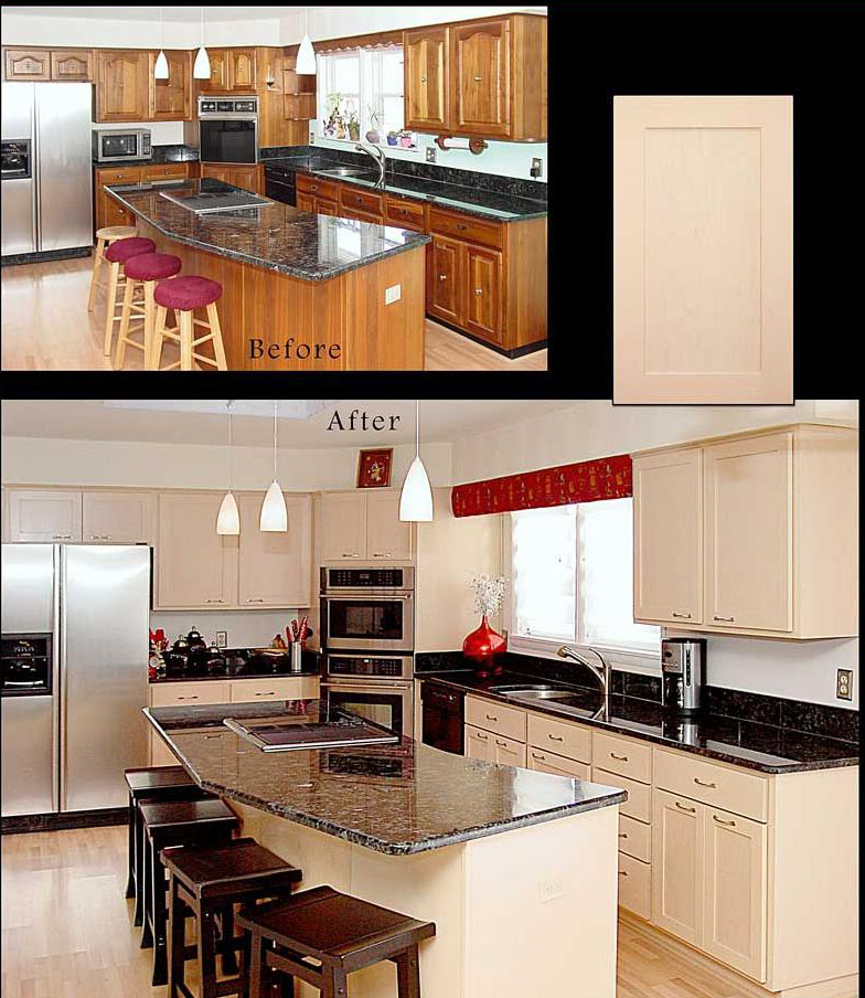 Kitchen Cabinets Reface: Reface-Cabinets-Before-And-After